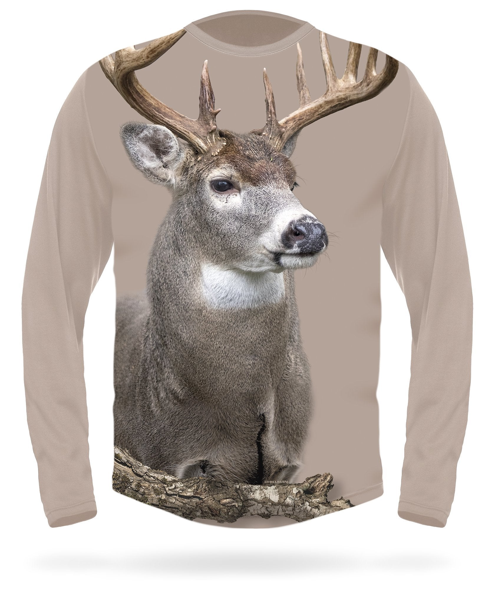 Whitetail Deer T-shirt long sleeve - HILLMAN® hunting gear