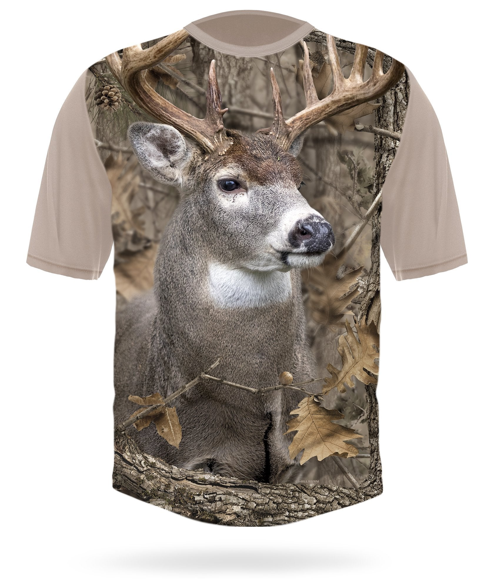 Whitetail Deer Shirt Short Sleeve Camo - HILLMAN® hunting gear