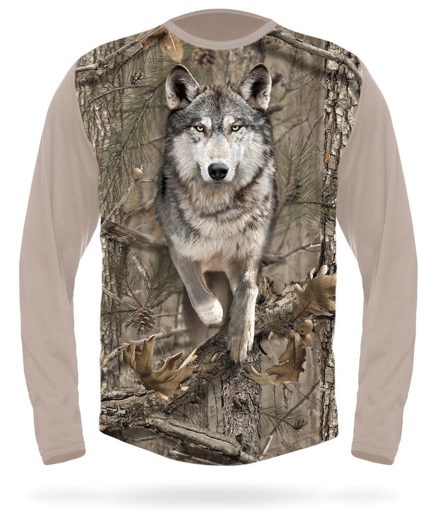 Wolf T-Shirt - Long Sleeve