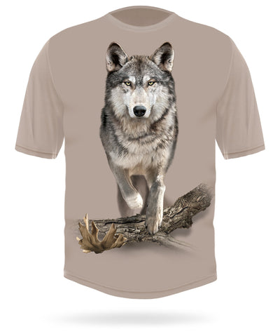 Wolf Shirt Short Sleeve by HILLMAN®