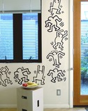 Dancers Wall Decals (Set of 8) - Keith Haring Pop Shop