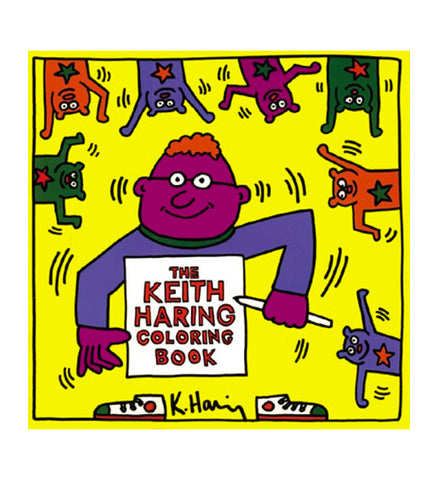 The Keith Haring Coloring Book Book - Keith Haring Pop Shop