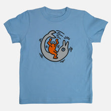 Figure on Dolphin Youth T-Shirt