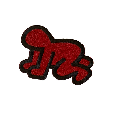 Baby (Red on Black) Patch