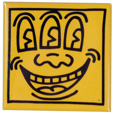 3 Eyed Face Pin - Keith Haring Pop Shop