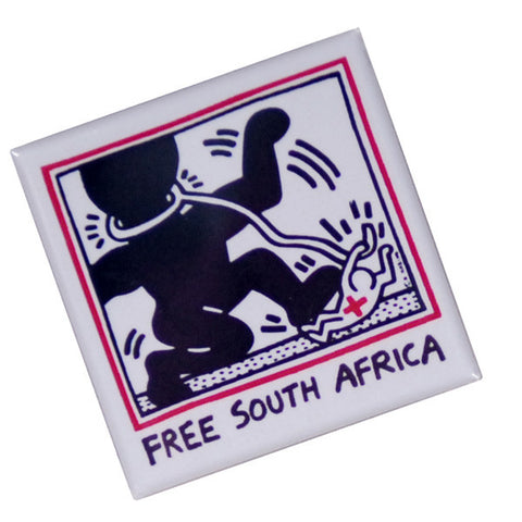 Free South Africa Pin