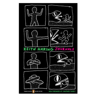 Keith Haring Journals Book - Keith Haring Pop Shop