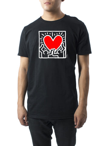 Holding Heart T-Shirt - Keith Haring Pop Shop