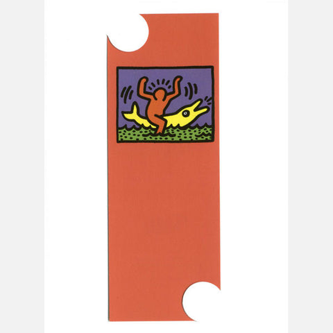 Untitled (Dolphin) Bookmark