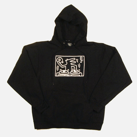 DJ Dog Hooded Sweatshirt - Keith Haring Pop Shop