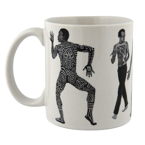Painting Bill T Jones Mug - Keith Haring Pop Shop