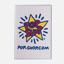 Pop Shop Logo Rectangular Magnet - Keith Haring Pop Shop