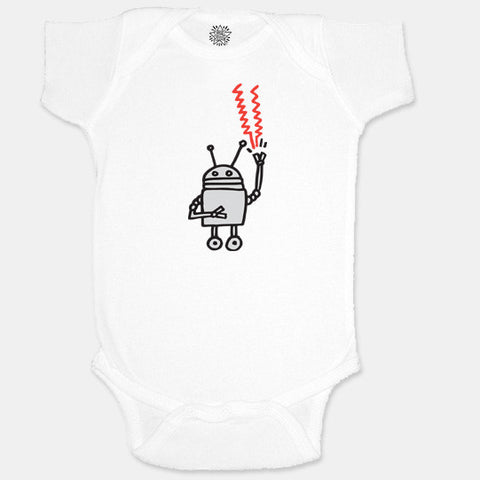 Robot Infant Romper