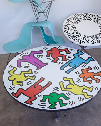 UNTITLED (RAINBOW DANCERS) Surface Decal - Keith Haring Pop Shop