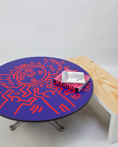 UNTITLED (FLYING CLOCK) Surface Decal - Keith Haring Pop Shop