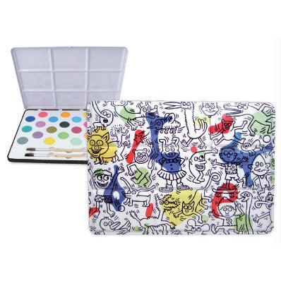 Keith Haring Watercolor Set