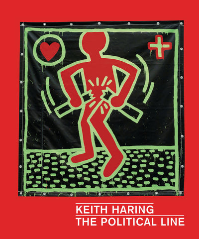 The Political Line Book - Keith Haring Pop Shop