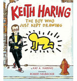 Keith Haring: The Boy Who Just Kept Drawing Book - Keith Haring Pop Shop