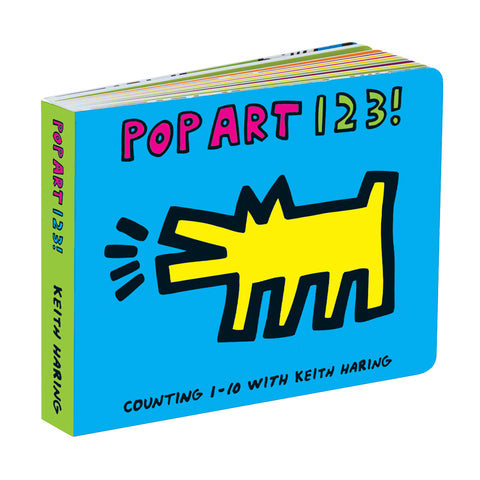 Pop Art 123! Board Book - Keith Haring Pop Shop