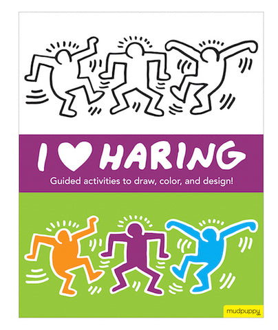 I Heart Haring Activity Book - Keith Haring Pop Shop