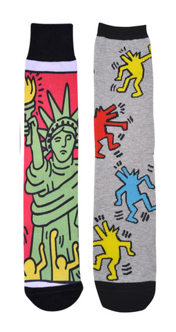 Statue of Liberty / DJ Dogs (Two Pack) Socks