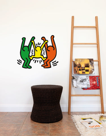 Family Wall Decal - Keith Haring Pop Shop