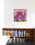 Love Heads Wall Decal - Keith Haring Pop Shop