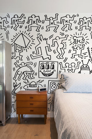 Symbols Wall Decals - Keith Haring Pop Shop