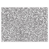2-Sided 500 Piece Puzzle - Keith Haring Pop Shop