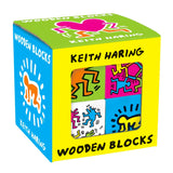 Set of 8 Wooden Blocks - Keith Haring Pop Shop