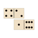 28 Double Sided Wooden Dominoes