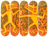Monsters Skateboard Deck - Keith Haring Pop Shop