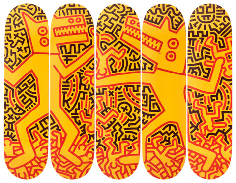 Monsters Skateboard Deck
