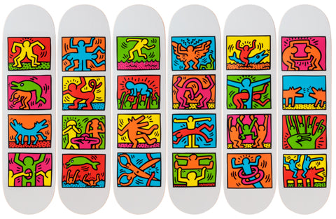 Retrospect Skateboard Deck - Keith Haring Pop Shop
