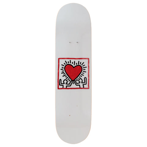 Untitled (Heart) Skateboard Deck - Keith Haring Pop Shop