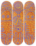 Untitled (1984) Skateboard Deck - Keith Haring Pop Shop
