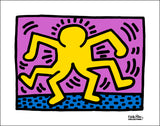 Untitled (Yellow Figures) Poster