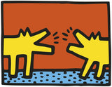 Untitled, 1989 (Barking Dogs) Poster