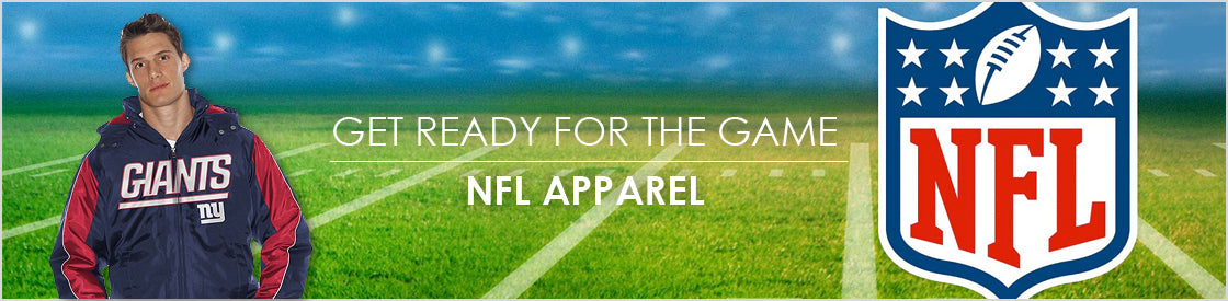 Get ready for the game NFL Apparel