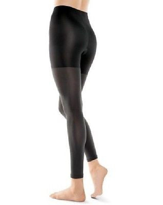 Assets by Sara Blakely 159 Shapewear Footless Tights Body Shaping Black & Brown