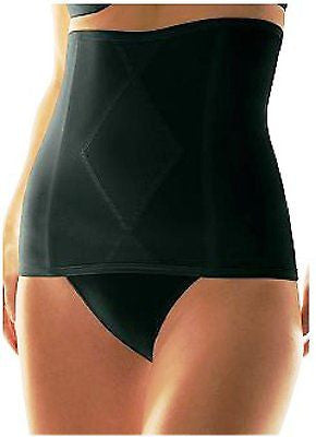 New Hanes Women's Satin Waist Cincher Style T701 In Black M, L, X-L, 2X-Large.