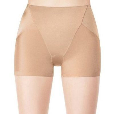 Assets by Sara Blakely Silhouette Serums Butt Boosting Girl Short 1648 Black and Nude