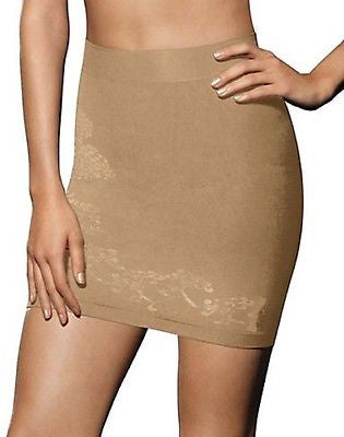 New Hanes Women's Firm Control Half Slip Style Number 0443 in Nude and Black