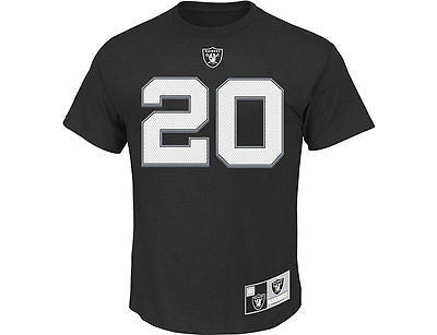 New NFL Men's Eligible Receiver Oakland Raiders Tee Style Number RS218