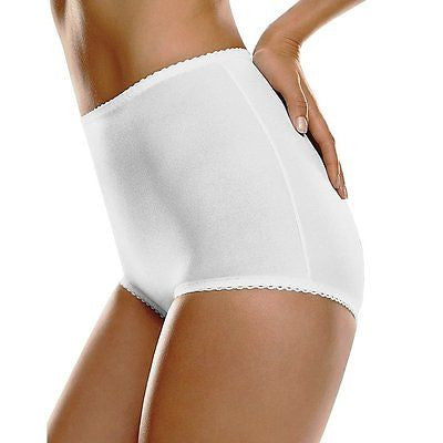 Hanes Women's All-Over Shaping Moderate Control Brief Style H051