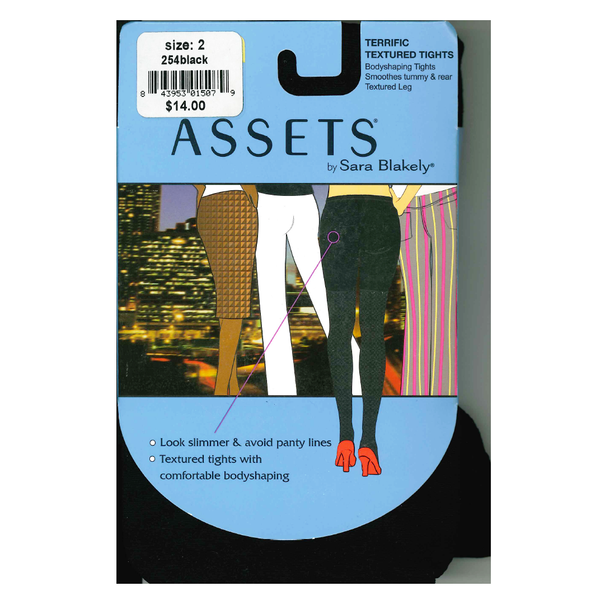 Assets Black Assets Argyle Tights