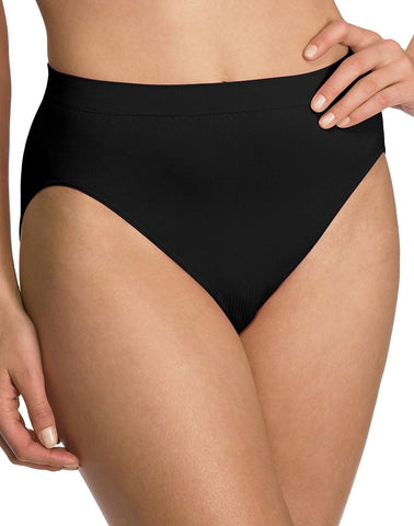 Bali Women's Comfort Revolution Seamless High-Cut Brief Panty (6 Pack)