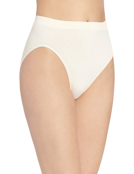 Bali Women's Comfort Revolution Seamless High-Cut Brief Panty (3 Pack)
