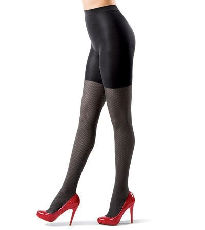 ASSETS by Sara Blakely Basket Weave Terrific Textured Tights #205
