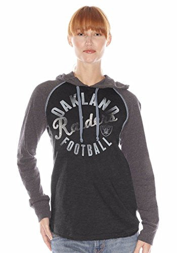 New G-III Sports Misses' NFL Play Clock Hoodie Style #RJ547 Bears, Giants, Steelers, Raiders, Redskins